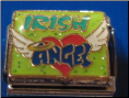 Irish Angel w/wings   Italian charm