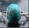 Blue Turquoise Bead
