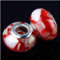 Red Shell European Bead