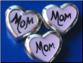 Custom Initial or Name Sterling Heart Bead