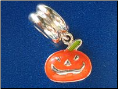 Bead  Dangle Pumpkin