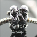 Angels Secret Silver European Bead