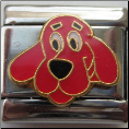 Clifford the Dog Italian Charm