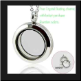 Waterproof  Stainless Steel Twist Off Locket