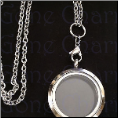 Locket Rnd Magnetic Locket with Chain