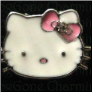 Kitty pink bow  Floating Locket charm