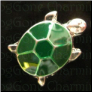 Turtle  Green  Floating Locket charm