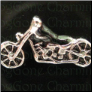 Motorcycle Alloy  Floating Locket charm