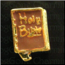 Holy Bible with Tassle Brn Floating Locket charm