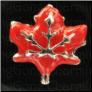 Leaf Red Autumn   Alloy  Floating Locket charm