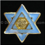 Star of David Religious  Floating Locket Charm