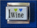 I Love Wine Magnetic
