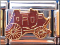Brown Western Stage Coach