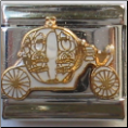 Cinderella Carriage Italian Charm
