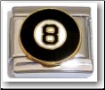 Eight Ball Italian Charm
