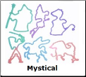 Mystical  12 Color Changing Silly Bandz
