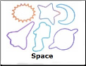Space Astronaut 12 Color changing Silly Bandz