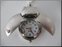 Lady Bug Silver Pocket Watch Pendant