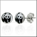 Panda Bear Earrings