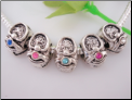 Baby Birthstone Spacer Bead