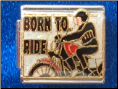 Born to ride motorcycle