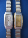 Glitter Checkered Watch
