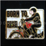 Born to Ride Harley Motorcycle Floating Locket Charm