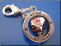 Reno & spinning dice   Zipper - Pull charm