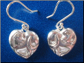 Puppy Love Sterling Silver Earrings