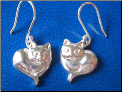 Kitty Love Sterling Silver Earrings