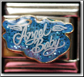 Angel Baby - Blue Glitter