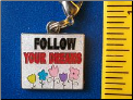 Follow your dreams   Zipper - Pull charm