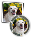 Your Dog's Photo!  on a Wrap Purse Hook