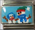 Adult/Child Snowman   Hand Painted