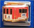 Cable Street Car   red 9 mm Italian charm