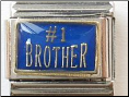 #1 Brother   Blue