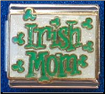 Irish MOM   9 mm Italian link charm