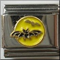 Bat & Moon   Yellow
