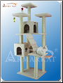 Classic Cat Tree Ivory Faux Fleece   77