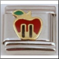 Apple Twin Towers Italian charm