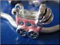 Baby Carriage Alloy Bead