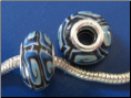 Blue Waters Bead 022