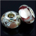 Brown Shell European Bead