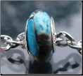 African Turquoise Stone Bead