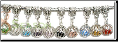 Birthstone Dangle European Bead