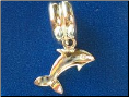 Bead   Dangle Dolphin