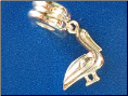 Bead   Dangle Pelican/Stork