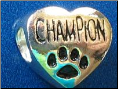 Bead   Champion w/ Paw   Black