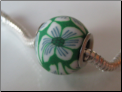 Emerald Isle CLAY Bead
