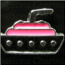 Cruise Ship Alloy Floating Locket charm